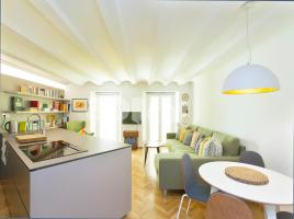 Flat in monthly rentals, 49 m², close to bus and metro, Robador - Rambla Del Raval